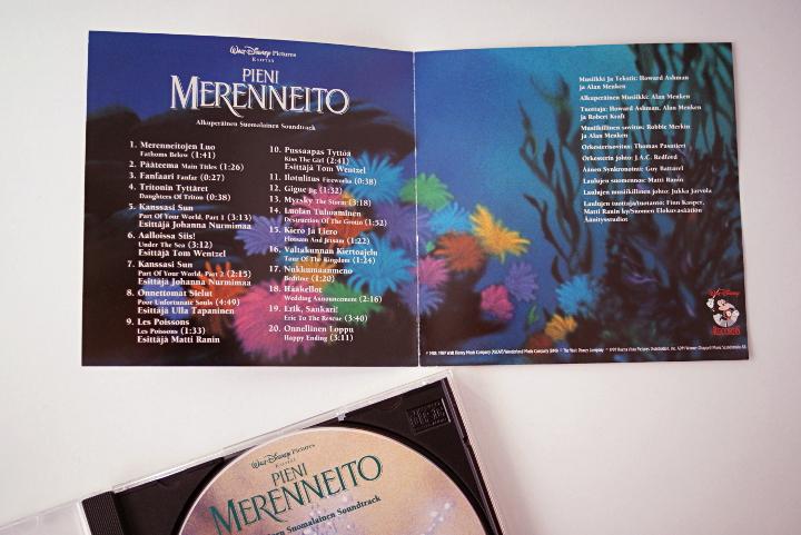 Pieni merenneito cd levy