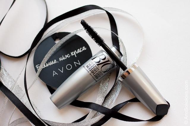 03 Avon BIG&Multiplied Volume Mascara swatches Ann Sokolova обзор и свотчи Анна Соколова