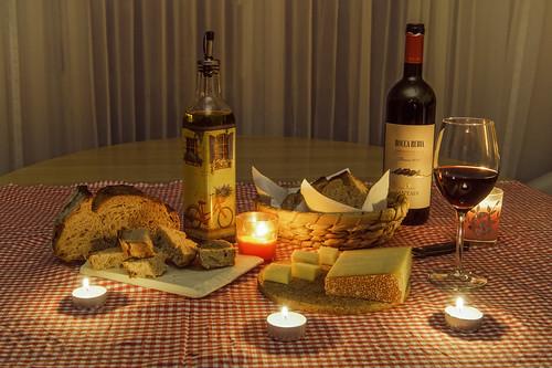 Olive oil presentation
