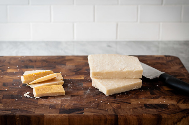 How to grate parmesan cheese in 5 minutes, without a box grater or a mess