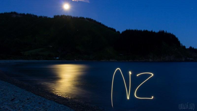 NZ Light Painting