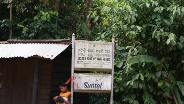 Kitulgala - The sign board