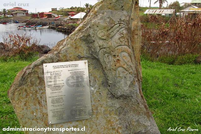 Memorial Expediciones - Isla de Pascua