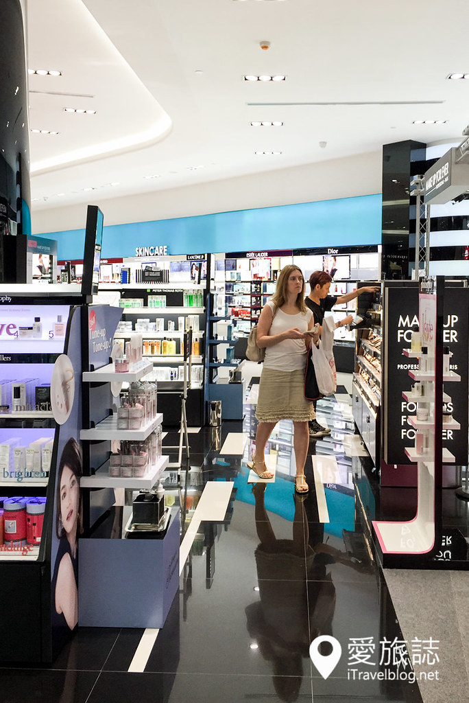 《曼谷购物血拼》Sephora:明星品牌彩妆保养品开架大集合