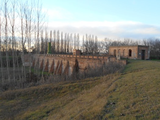 ponte della Rosta,  diga, Castagnaro