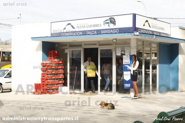 Oficina Buses Altas Cumbres - Constitución