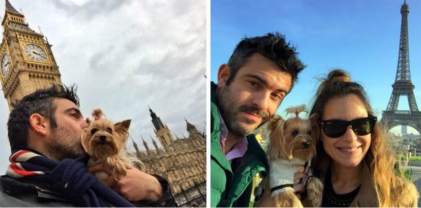 Pau en Londres y Pau en París