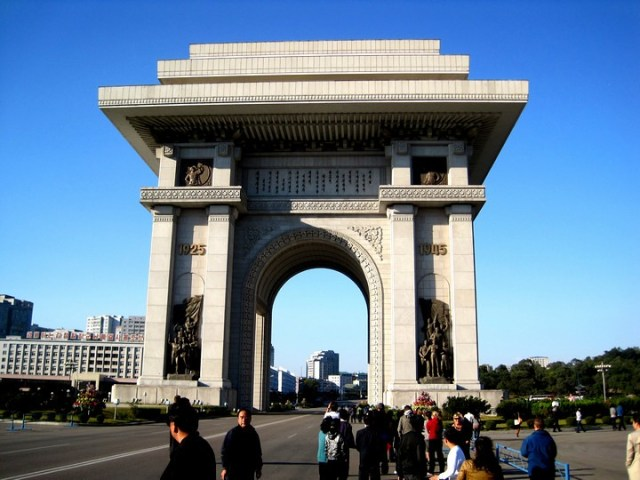 Arco del Triunfo de Pyongyang