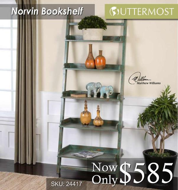 Norvin Bookshelf $585