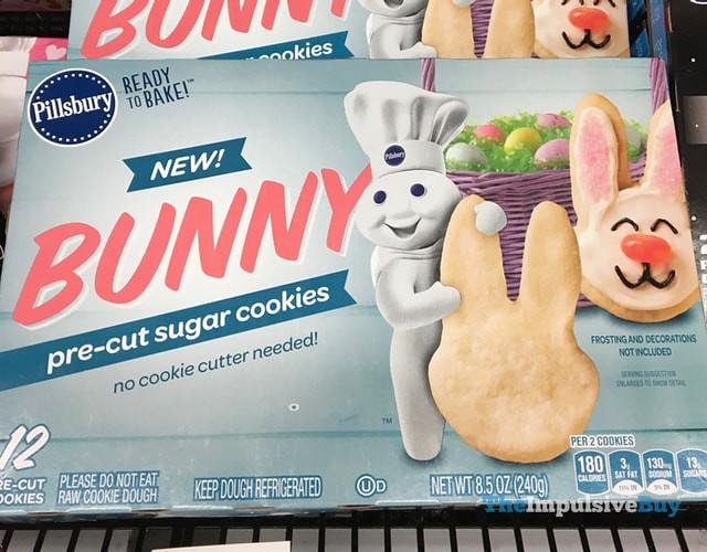 Pillsbury Bunny Pre-Cut Sugar Cookies
