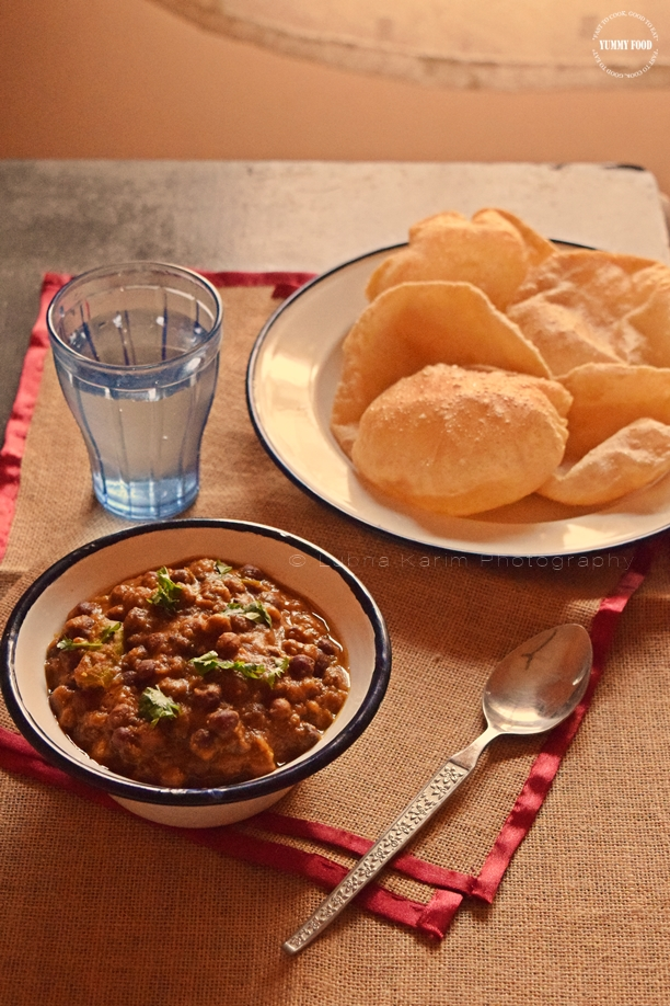 Kala Chana Curry/Black Chickpeas Curry