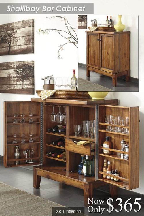 Shalibay Bar Cabinet