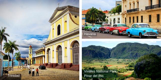 Cuba tour destinations