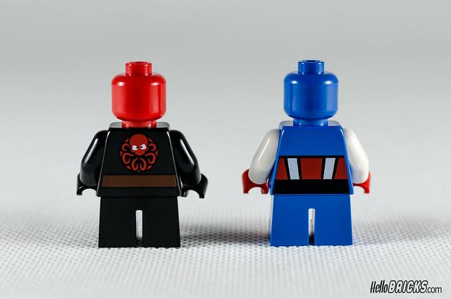 REVIEW LEGO 76065 Mighty Micros Captain America vs Red Skull (HelloBricks)
