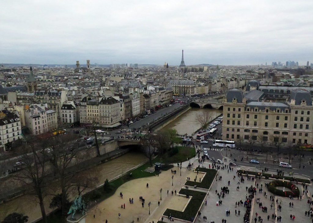 Paris from the Top of Notre Dame