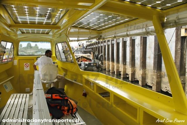 Taxis fluviales solares Valdivia - TFS (Transporte Fluvial Sustentable)