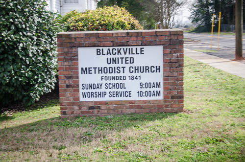 Blackville Methodist Church and Cemetery