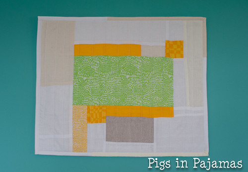 Mighty Lucky Quilting Club February Improv
