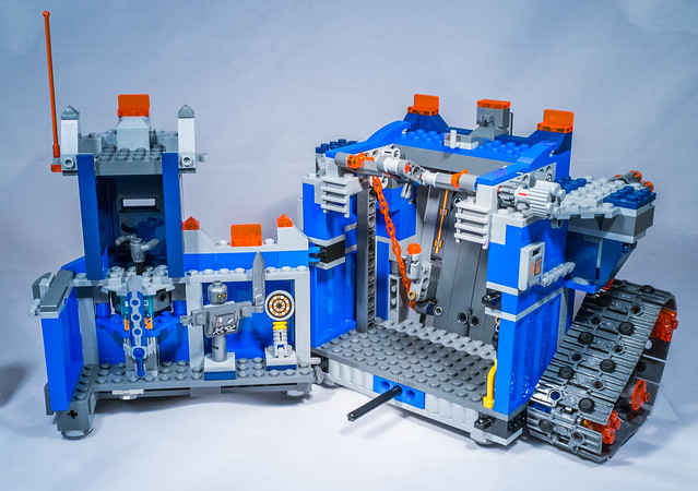 REVIEW LEGO 70317 Nexo Knights The Fortrex