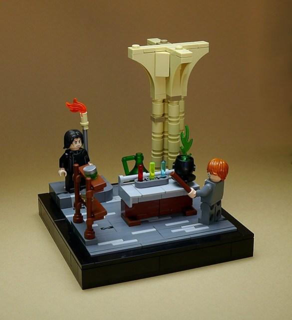 #006 Snape's Potion's class