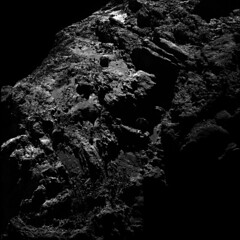 Comet 67P seen from distance of 30km on 23 Apr