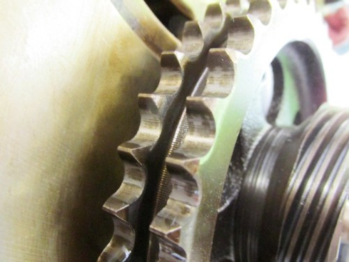 Camshaft Sprocket Teeth