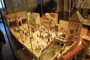 Medieval Torture Museum diorama