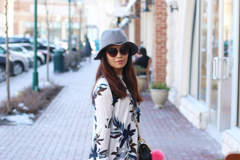 Spring-look-floral-dress-hat-outfit-1