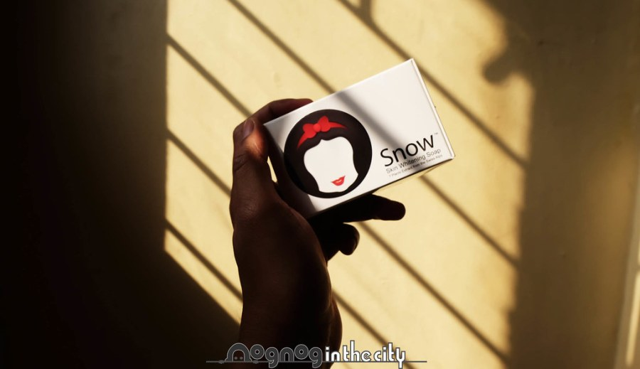 snow skin whitening soap 01