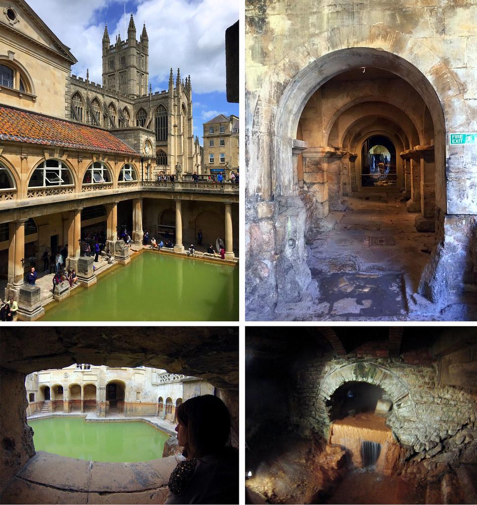 Bath en un día: Baños Romanos de Bath en Inglaterra Bath en un día Bath en un día, el SPA de Roma en Inglaterra 24544935684 4a89e4e150 b