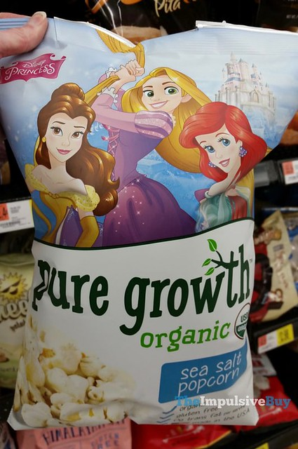 Disney Princess Pure Growth Organic Sea Salt Popcorn