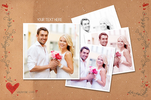 20 Valentine Photo Templates - Vol.02