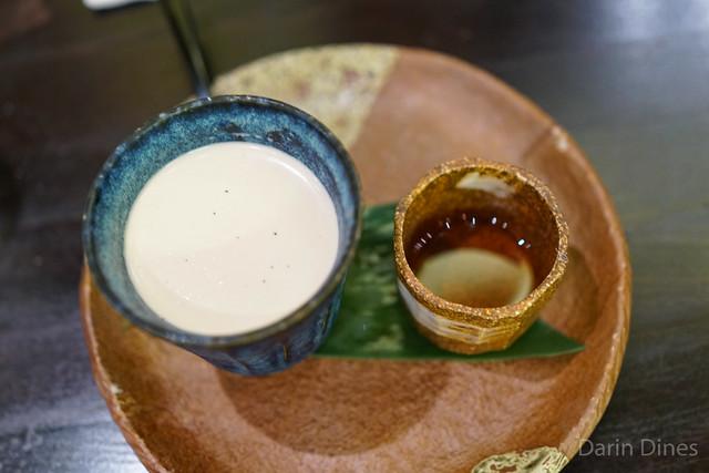 Hojicha (Roasted Green Tea) Panna Cotta