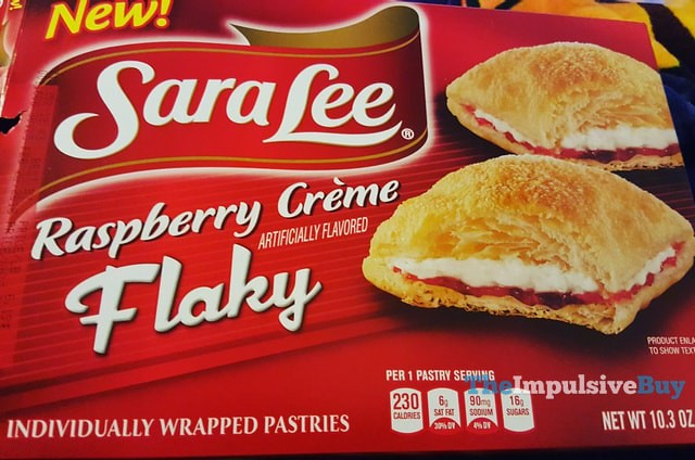 Sara Lee Raspberry Creme Flaky Pastries
