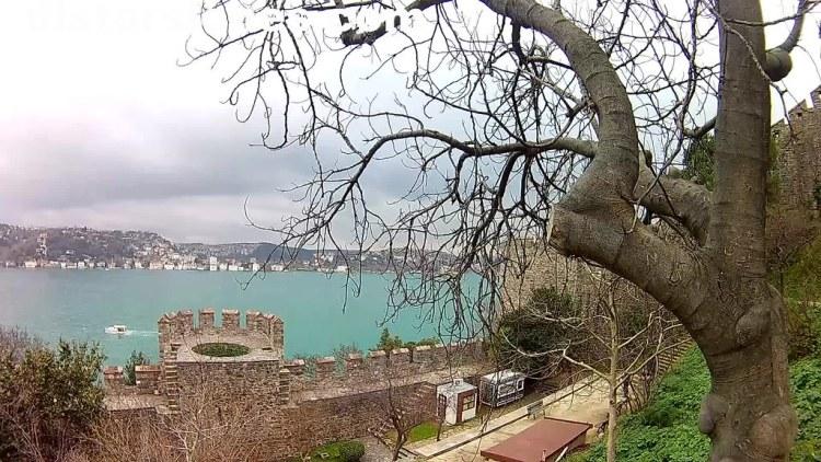 Castillo de Rumelia y junto al Bósforo