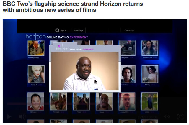 BBC Horizon dating experiment