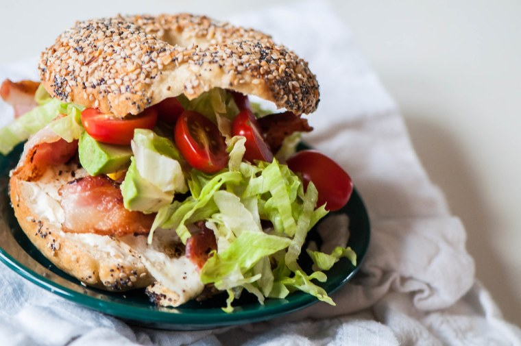 BLT Bagel Sandwich 6