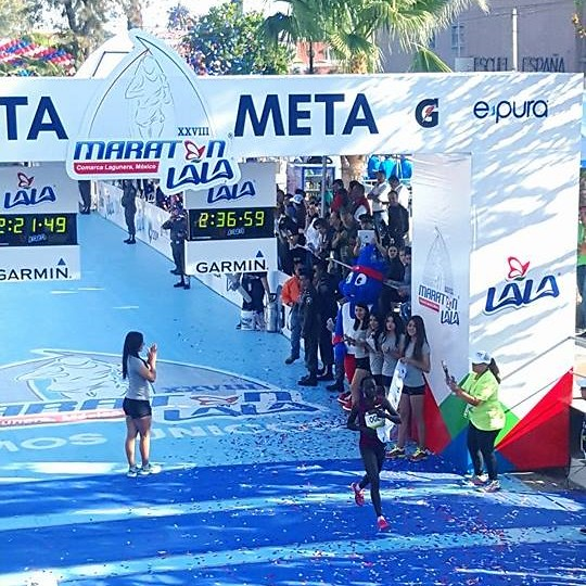 Ogla Kymaiyo - Maratón LALA 2016