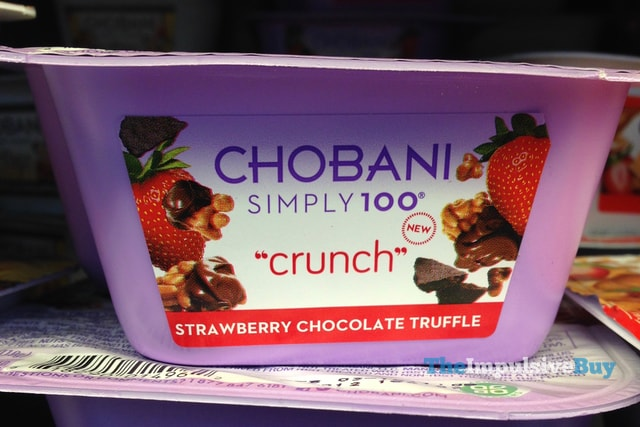 Chobani Simply 100 Crunch Strawberry Chocolate Truffle