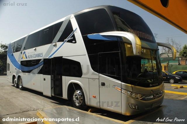 Buses Altas Cumbres - Santiago - Marcopolo Paradiso 1800 DD / Volvo (GPGG34)