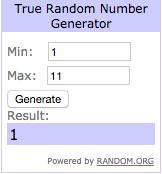 RANDOM.ORG True Random Number Service 2016 03 09 02 11 08