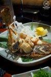 Deep fried flounder, $28: Busshari, Potts Point. Sydney Food Blog Review