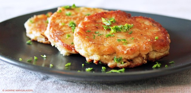 Aubergine Fritters (Eggplant Fritters)