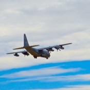KC-130 Aerial Refueling Tankers Practicing Touch and Goes At Davis-Monthan AFB in Tucson, AZ Feb 18, 2016 <<>> P1010590 - Version 2.