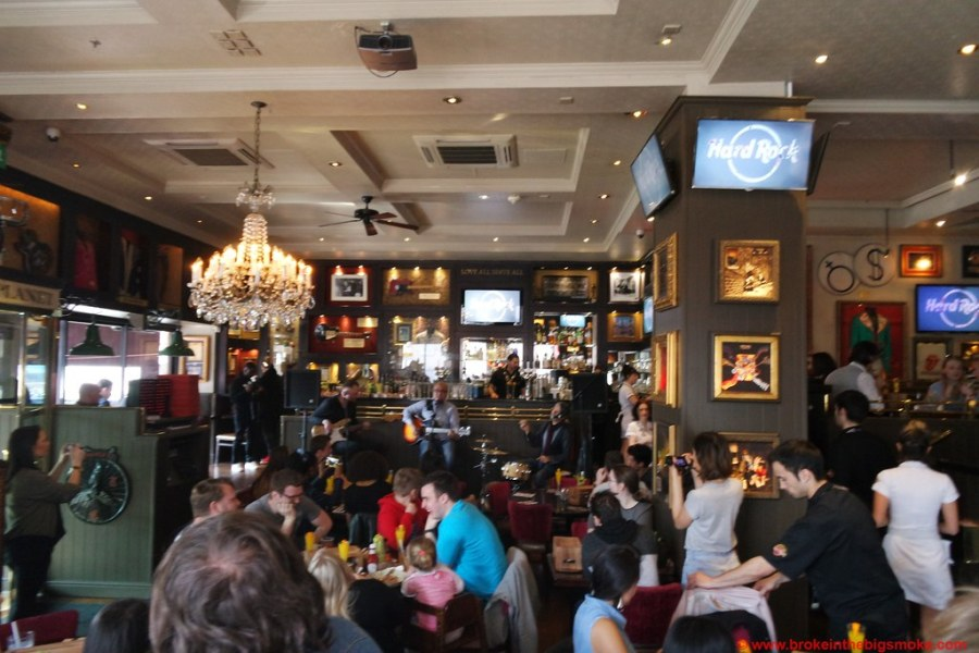 Hard Rock Cafe Brunch Band