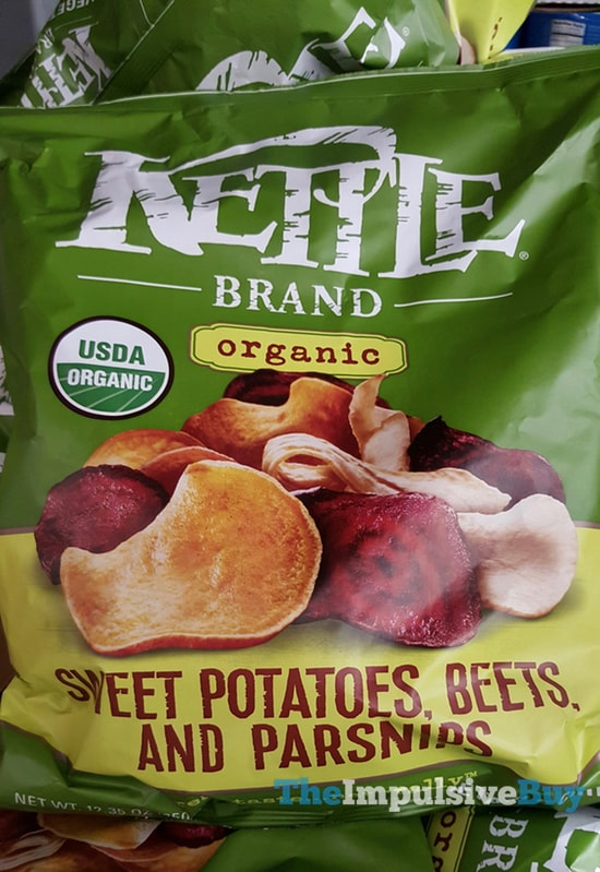 Kettle Brand Organic Sweet Potatoes, Beets, and Parsnips