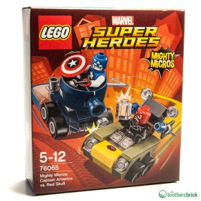76065 Mighty Micros: Captain America vs. Red Skull