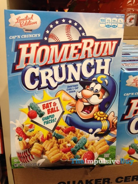 Limited Edition Cap'n Crunch's Home Run Crunch