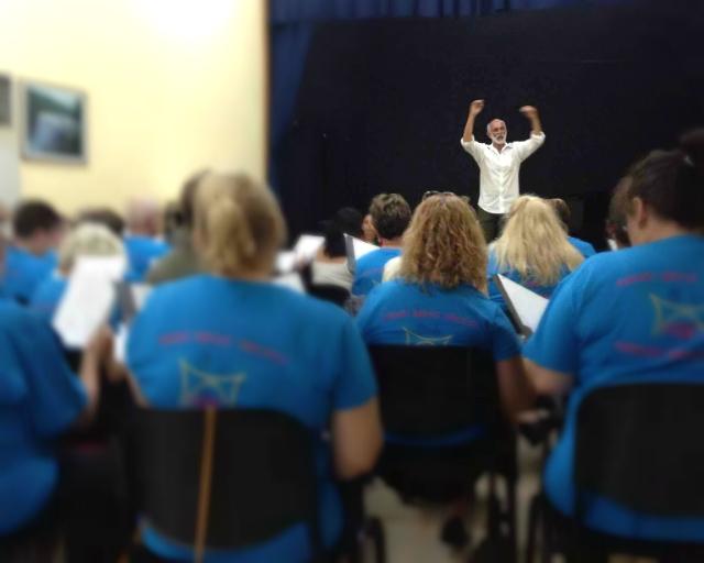 Choral workshop in Matanzas