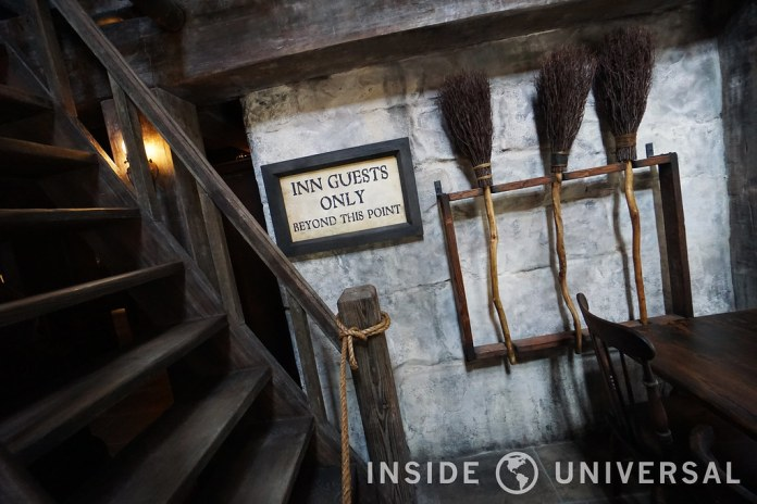 The Wizarding World of Harry Potter at Universal Studios Hollywood - Three Broomsticks